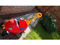 Young Kids Car (push handle car) good condition