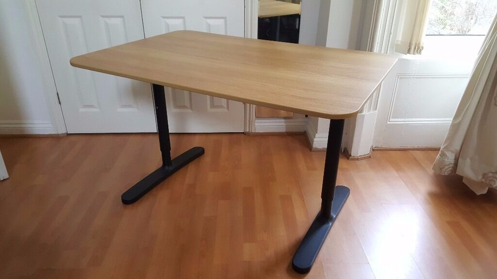 ikea bekant desk 120x80 cm in bournemouth dorset gumtree. Black Bedroom Furniture Sets. Home Design Ideas