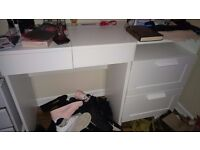 Ikea dressing table and drawers