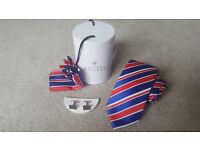 Alexander Dobell Tie & Cufflink Set