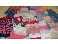 Baby girl clothes bundle 18-24 months. Over 50 items! Spring, summer, autumn, winter clothes.