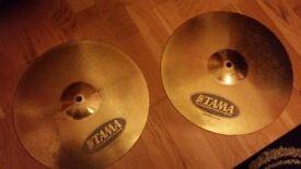 Tama Hi Hat cymbals 14' - Used