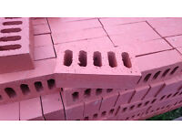 Bricks for sale, Smooth Red, 360 bricks