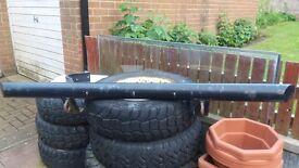 Land rover defender heavy duty tubular bumper