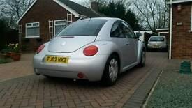 2002 1.6 vw beetle