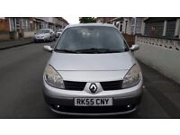 Renault Grand Scenic for sale. Silver, with alloy wheels. Seven seater. Perfect family car.