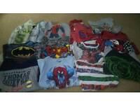 Boys clothes and shoes bundle