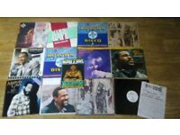 15 x marvin gaye vinyl collection LP's / 12 inch / 80's magazine