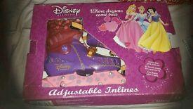 Disney princess inline skates