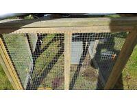 used outdoor hamster / rabbit / small bird run