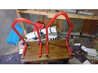 Paddock Stands-Wheel Grabber-Bike Tent