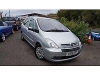 Citroen Xsara Picasso 1.6 HDi Exclusive+MOT MAY 17+JUST SERVICED+IDEAL FAMILY CAR+3 MONTH WARRANTY