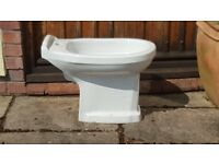 Bidet, white, possibly Heritage