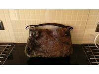 Handbag faux fur Emilio Faraoni £5