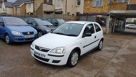 2004 Vauxhall Corsa 1.0 i ECO 12v Life Easytronic 3dr /Annual Tax £30 / LOW MILEAGE / NEW MOT
