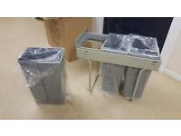 Hafele 3x10 litre waste bins, individual or deal