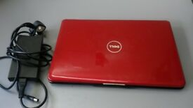 Dell Inspiron 1545 laptop / 15.6 inch / RED
