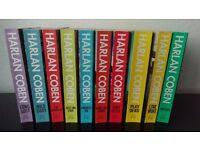 Set of 10 Harlan Coben Books £5