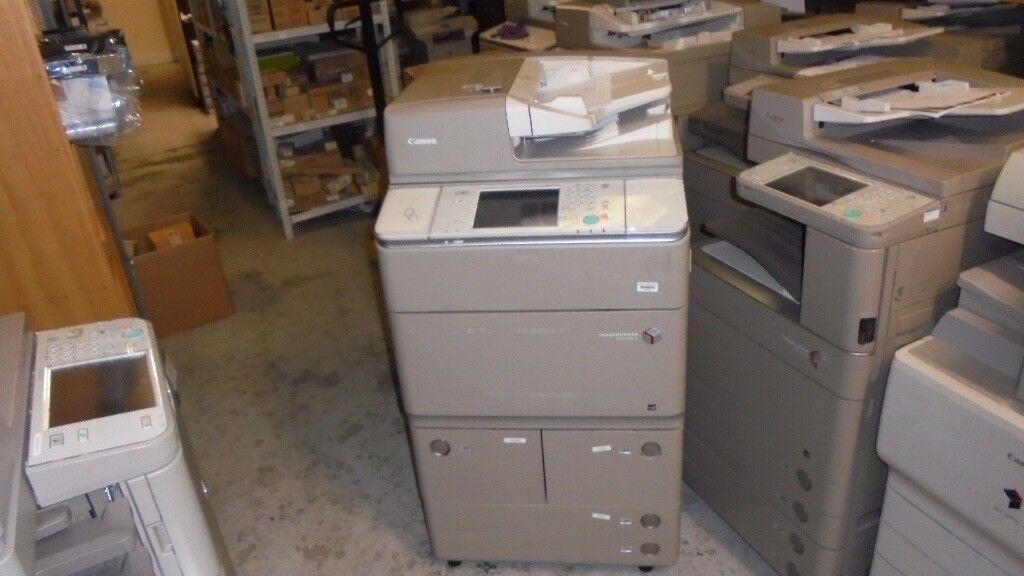 CANON IR6255i & Staple Finisher 55 copy per minute black and white copier / printer