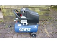 Power Craft PC270/09 24L Air Compressor - Spares or Repairs