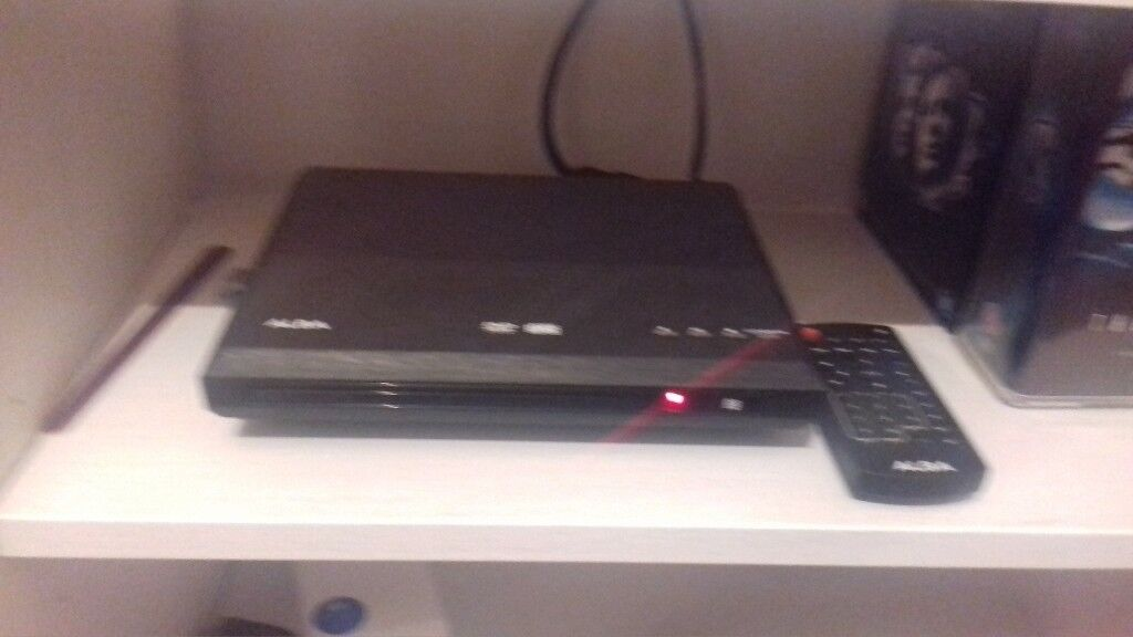dvd player and remote