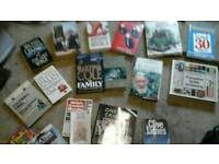 Various books hardback and paperback Approx 30 Various authors