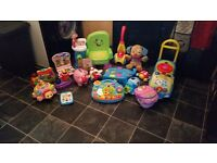 Baby toys 0 to 24 mths good as new
