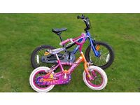 """Children's bikes for sale, Individually or together / Boys & Girls bikes: 16"""" and 12.5"""""""
