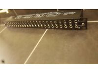 BLACK NEUTRIK NYS-SPP-L1 PATCHBAY STUDIO/LIVE EQUIPMENT