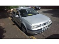 VOLKSWAGEN GOLF 1.6 16V MANUAL 2004 70,000 ORIGINAL MILEAGE VERY GOOD AND EXCELLENT CONDITION