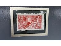 Various Prints Of Old Postage Stamps Professionally Framed £10 Each