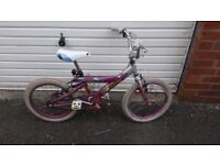 Girls bike - Pony Spirit - used condition - £8 - suit 6-7 year old
