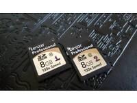 Lexar Professional SD HC Card 8GB 133x Class 10