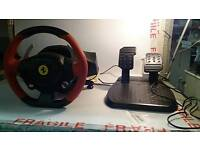 Ferrari 458 Spider Racing Wheel! Xbox one steering