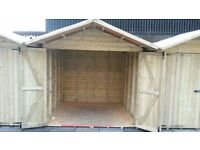 Heavy duty sheds. Last few. Ex Christmas market stall used for 4 weeks. Good as new.