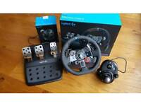 Logitech g29 gaming steering wheel