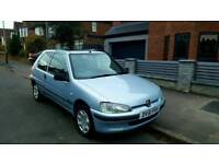 2001 Peugeot 106 1.1 ONLY 50k MILES BEST EXAMPLE CLEAN Ideal First Fiesta Corsa Clio Saxo Punto 206