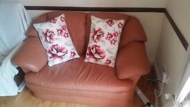 Sofa 2 seat & 2 armchairs, Double bed & Mattress & Headboard, Dining table & 4 seats, TV stand