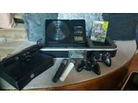 Xbox 360 kinnect bundle and games