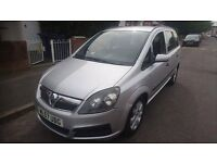 2007 VAUXHALL ZAFIRA 7 SEATER 1.9 DIESEL, MANUAL WITH 11mths MOT.