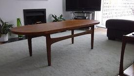 Coffee table retro g-plan style 1960s/1970s
