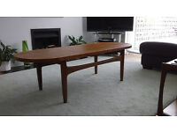 Coffee table retro g-plan style 1960s/1970s