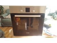BOSCH HBN331E3B Electric Oven Serie 2 - Stainless Steel brand new never been used