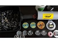 Pike fishing terminal tackle, traces, floats