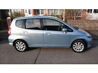 Honda Jazz 1.4 I-DSI SE CVT-7 Automatic 5 dr, metallic blue, petrol 2005