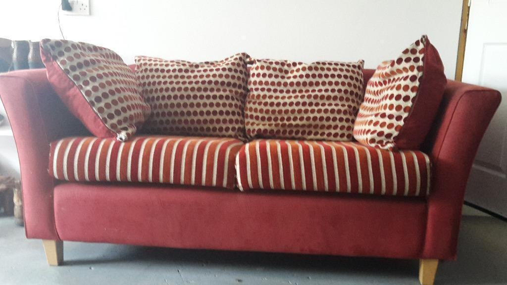 Red Small Sofa In Claudy County Londonderry Gumtree