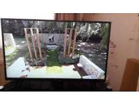 "43"" LG 4k tv"