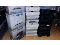 Very Cheap Job Lot Of 19x Cannon Colour Printers **Untested** Few comes with BOX *Bargain*Bargain*
