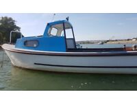seafairer 21 sea fishing boat not colvic may swap part x