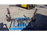 Audi vw subframe calipers driveshafts brakes